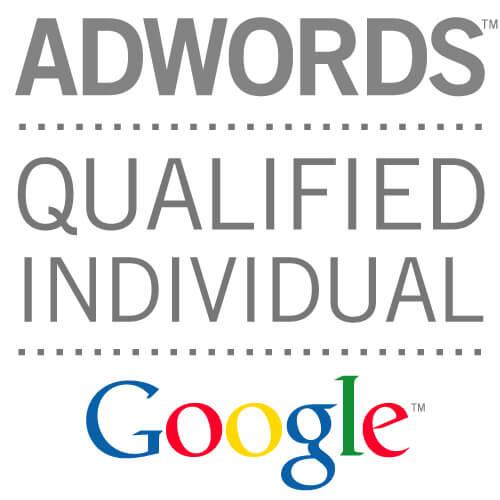 Logo de certificación de Google Adwords