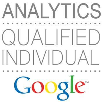 Logo de certificación de Google Analytics